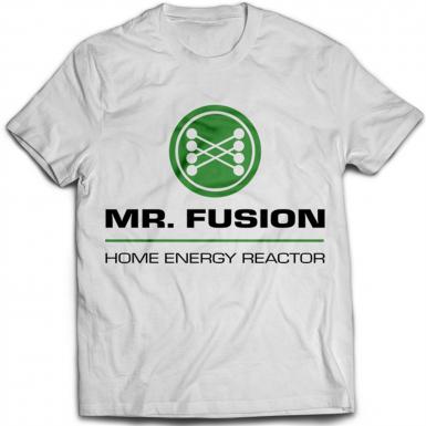 Mr Fusion Mens T-shirt
