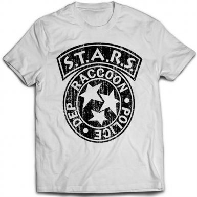 Racoon City Mens T-shirt