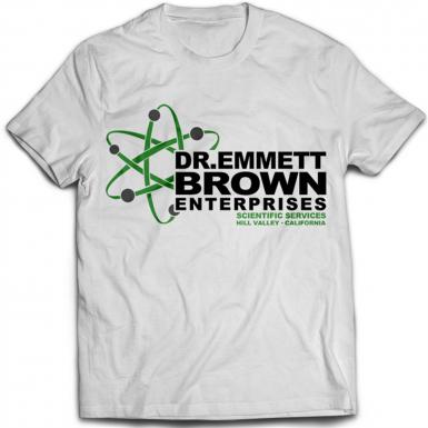 Dr Emmett Brown Enterprises Mens T-shirt