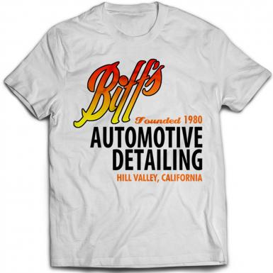 Biff's Auto Detailing Mens T-shirt