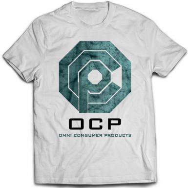 OCP Omni Consumer Products Mens T-shirt