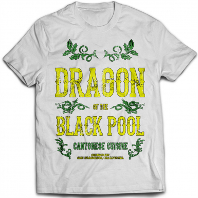 Dragon Of The Black Pool Mens T-shirt