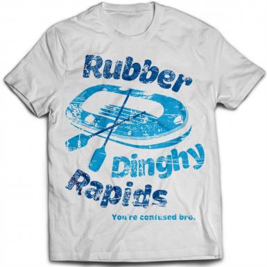 Rubber Dinghy Rapids