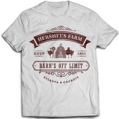 Hershel's Farm Mens T-shirt