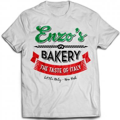 Enzo's Bakery Mens T-shirt