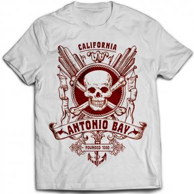 Antonio Bay Mens T-shirt