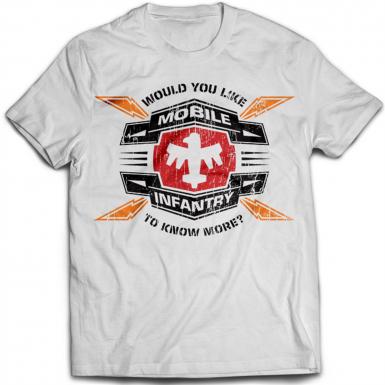 Mobile Infantry Mens T-shirt
