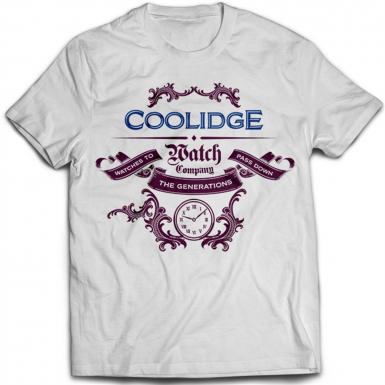 Coolidge Watch Co Mens T-shirt