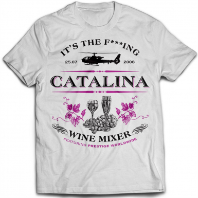 Catalina Wine Mixer Mens T-shirt