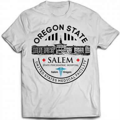 Oregon State Hospital Mens T-shirt