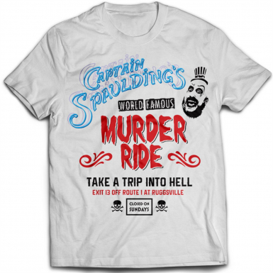 Captain Spaulding Mens T-shirt