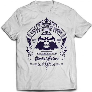 Chilled Monkey Brains Mens T-shirt