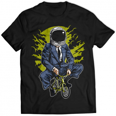 Bike To The Moon Mens T-shirt