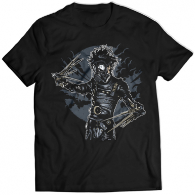 Gas Mask Scissors Mens T-shirt