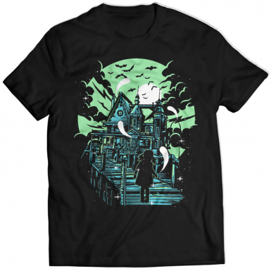 Haunted House Mens T-shirt