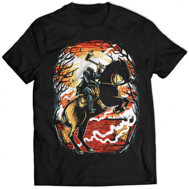 The Headless Horseman Mens T-shirt
