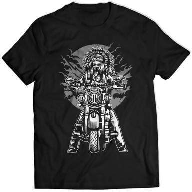 Indian Chief Motorcycle Mens T-shirt