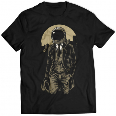 Classic Astronaut Mens T-shirt