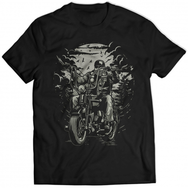 Live To Ride Mens T-shirt