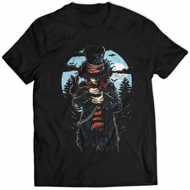 Mad Hatter Mens T-shirt