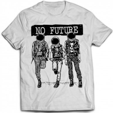 No Future Mens T-shirt
