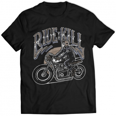 Ride To Kill Mens T-shirt