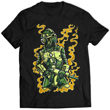 Robot Soldier Mens T-shirt