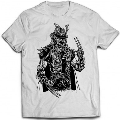 Samurai Punk Mens T-shirt