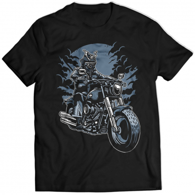 Samurai Ride Mens T-shirt