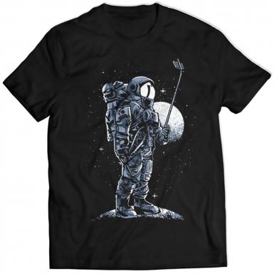 Selfie Astronaut Mens T-shirt