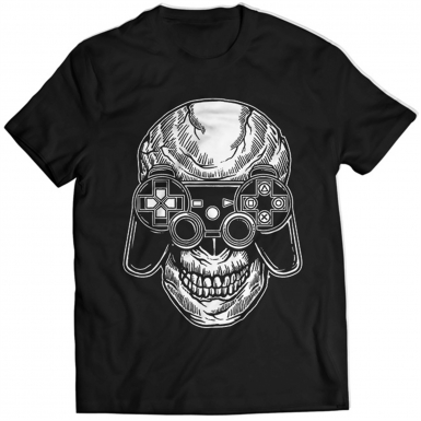 Skull Gamers Mens T-shirt