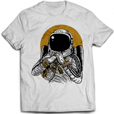 Space Dee Jay Mens T-shirt