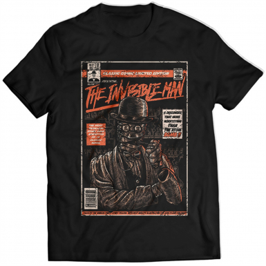 The Invisible Man Mens T-shirt