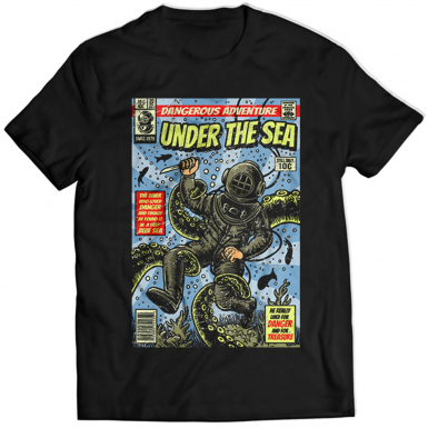 Under The Sea Mens T-shirt