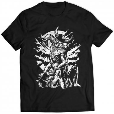 Viking MMA Fighter Mens T-shirt