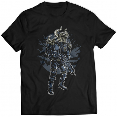 Viking Soldier Mens T-shirt