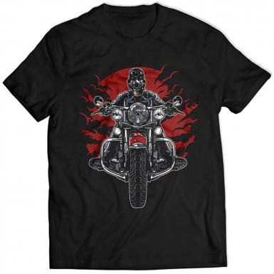 Wild Biker Mens T-shirt