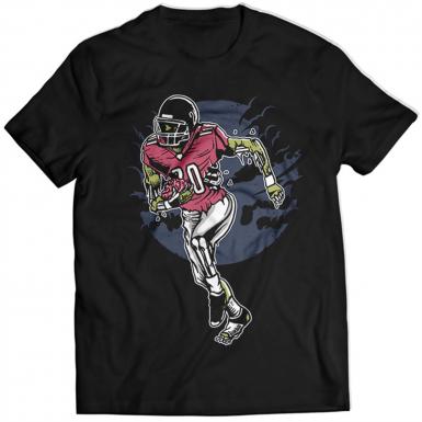 Zombie Football Mens T-shirt