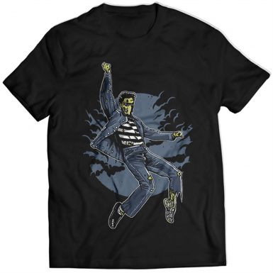 Zombie King Mens T-shirt