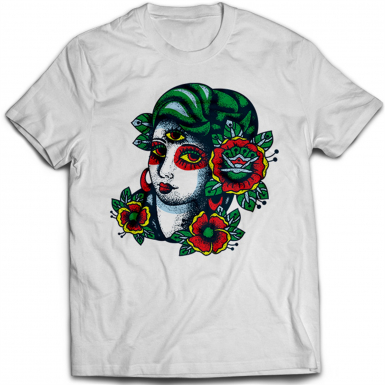 Tattoo Girl Mens T-shirt