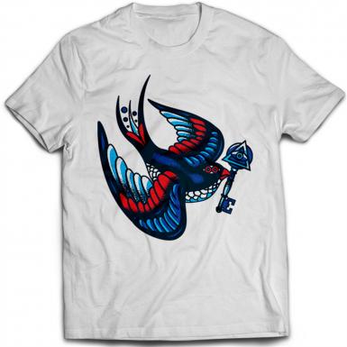 Tattoo Bird Illuminati Key