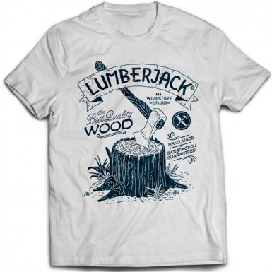 Lumberjack Mens T-shirt