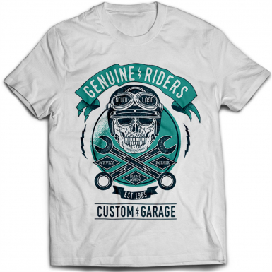 Genuine Riders Mens T-shirt