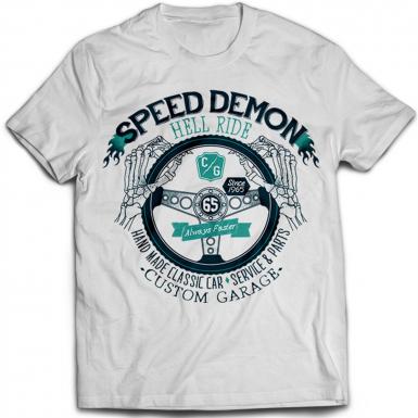 Speed Demon Mens T-shirt