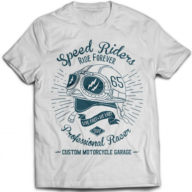 Speed Riders Mens T-shirt