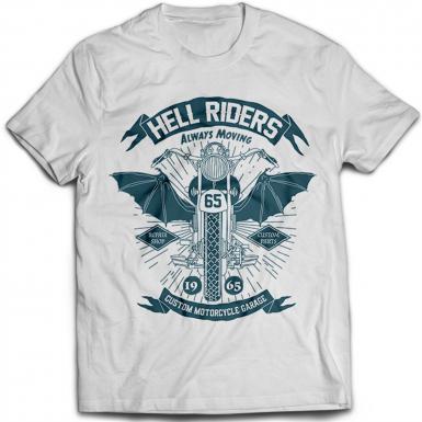 Hell Riders Mens T-shirt
