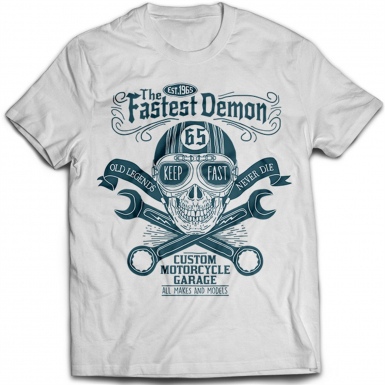 The Fastest Demon Mens T-shirt