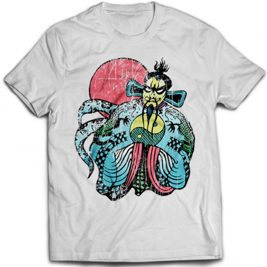 Fu Manchu Mens T-shirt