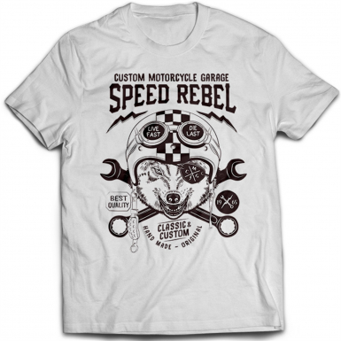 Speed Rebel Mens T-shirt