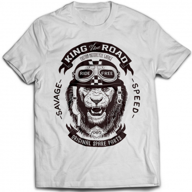 King Of The Road Mens T-shirt